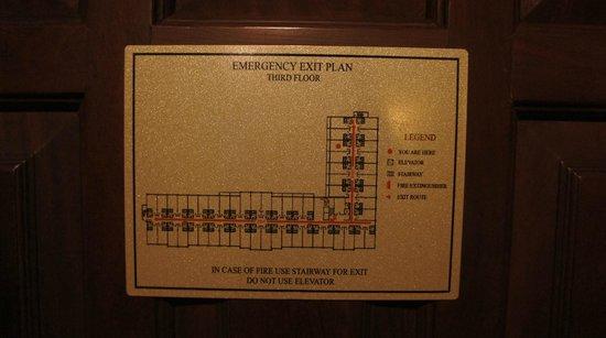 Prince D'Angkor Hotel & Spa: 部屋の配置