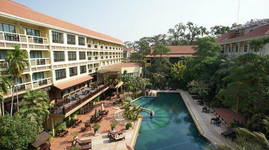Prince D'Angkor Hotel & Spa: 昼間の景色