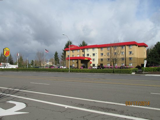 Motel 6: View from across the street