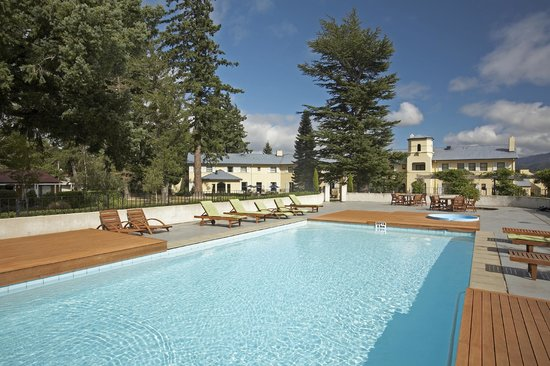 Heritage Hanmer Springs: The hotel pool