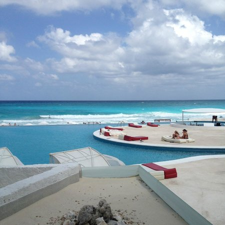 Bel Air Collection Resort & Spa Cancun: window viewPool/Beach view