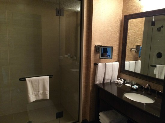 Omni Austin Hotel Downtown: Large bathroom