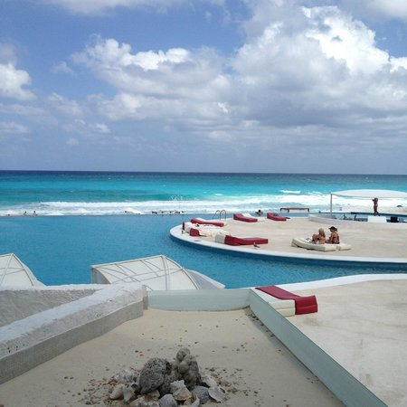 Bel Air Collection Resort & Spa Cancun: window view