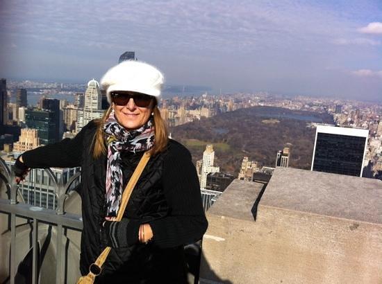 Rockefeller Center: Se ve Central Park !