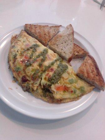 The Coffee Spot : Artisian Omelette