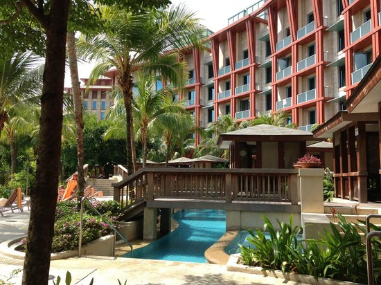 Hard Rock Hotel Singapore : お庭の風景
