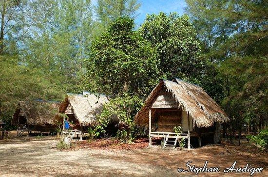Phrathong Nature Resort: Bamboo & thatch bungalows