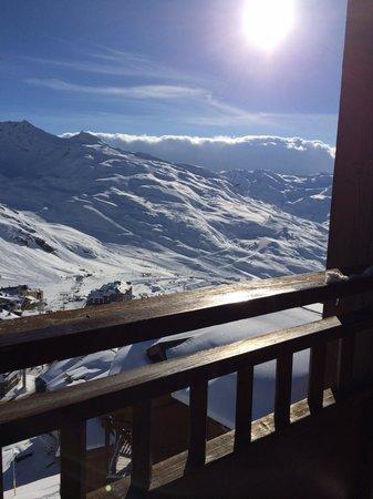Residence Les Balcons de Val Thorens : Vue du balcon