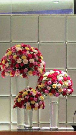 The Park Chennai: Flower arrangement at the LOBBY