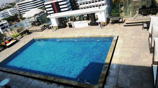 The Park Chennai: Pool side - Open terrace !