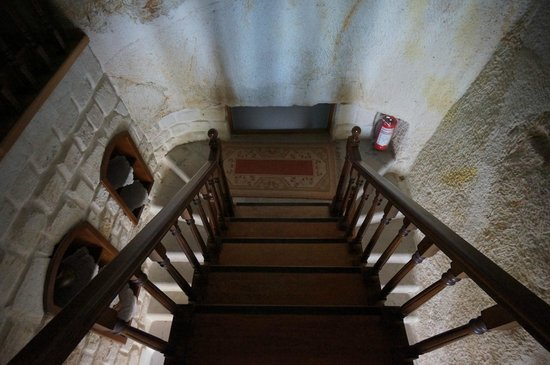 Asia Minor Hotel : Staircase to two 2nd floor rooms