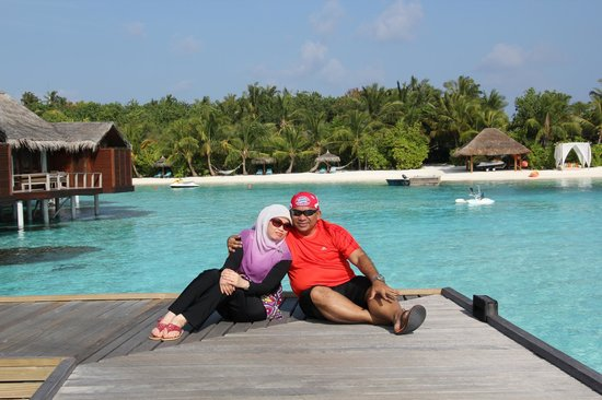 Anantara VeliMaldivesResort: Our lovely portrait to remind us of our 30th anniversary at Maldives