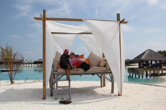 Anantara Veli Maldives Resort : I am feeling like a Queen