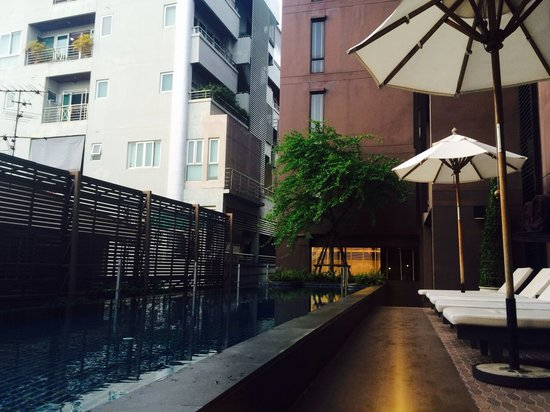Tenface Bangkok: the lovely small pool