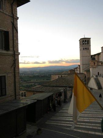 Hotel San Francesco: View from window