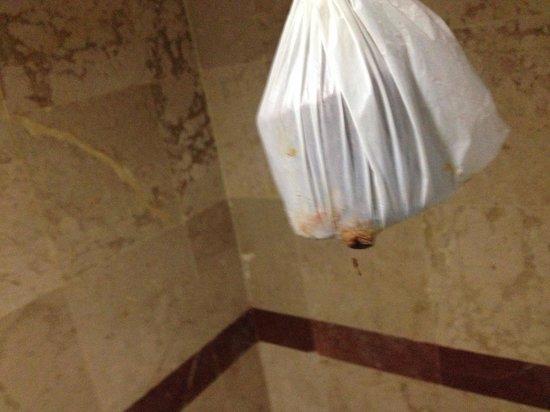 Baiyoke Sky Hotel: Trovato in bagno...