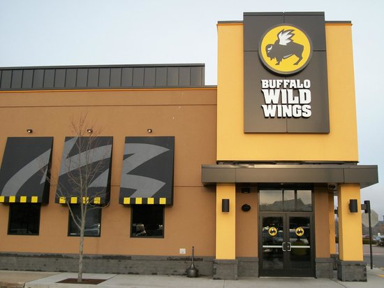 Buffalo wild wings massachusetts: Exteriro of the Buildings