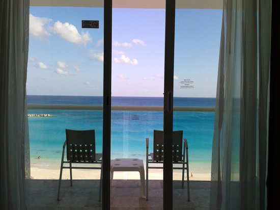 Krystal Cancun : A beautiful view from the room !
