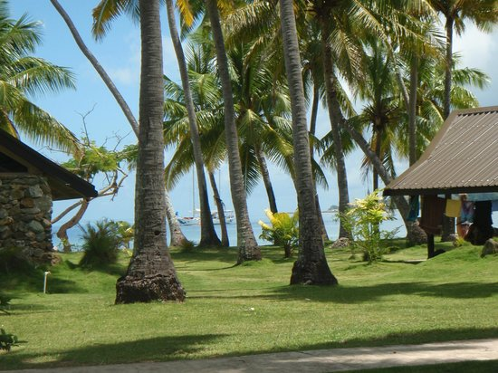 Plantation Island Resort: ocean views from our 2 bedroom garden bure