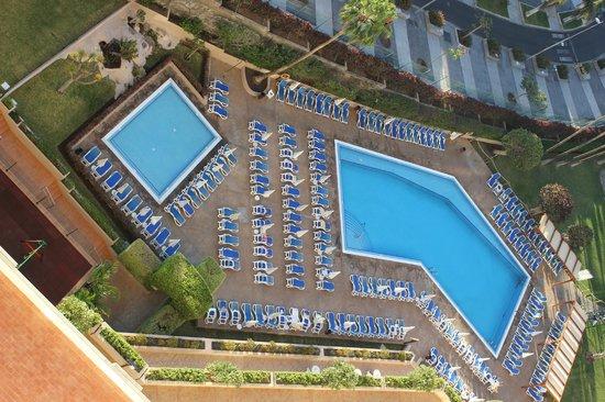 Iberostar Bouganville Playa: Pool view