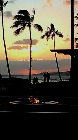 RumFire : Sunset view from the Rum Fire Restaurant