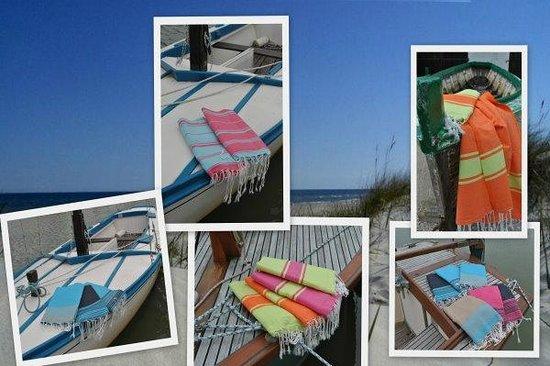 Ma cabane sur la plage