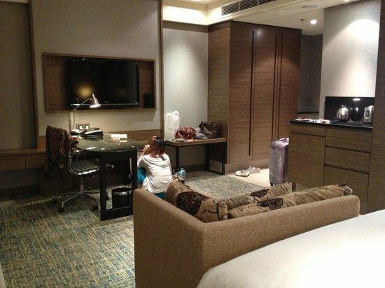 Renaissance Johor Bahru Hotel: our room
