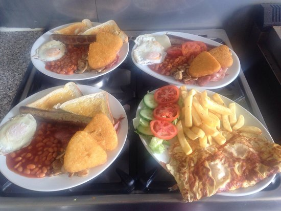 Sheri's Cafe: Sample of our food