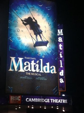 Matilda Poster Picture Of Matilda The Musical London
