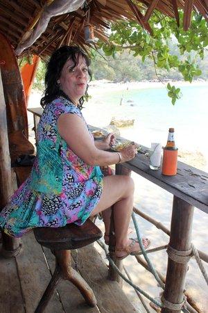 Skyla's Beach House : Les tables