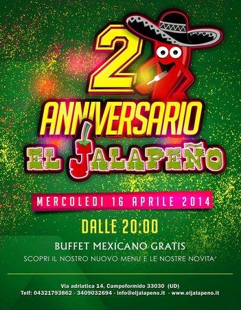 El Jalapeno: Vi aspettiamo!