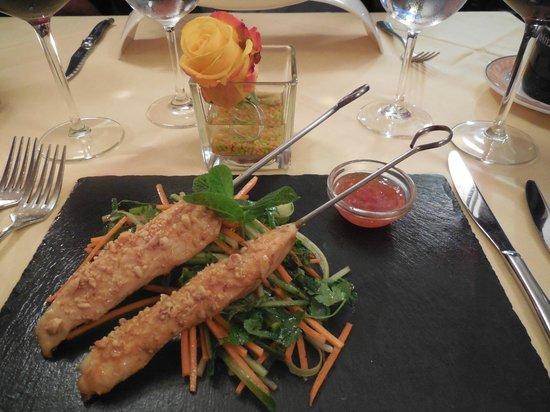 Cafe de l'Union: Sucettes de poulet thai...