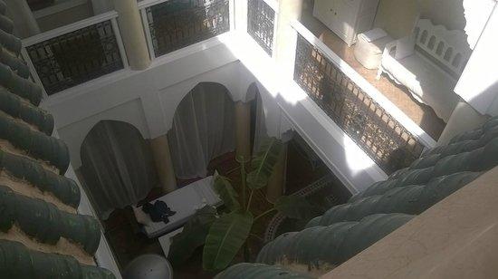 Riad les Orangers d'Alilia Marrakech : Cortile