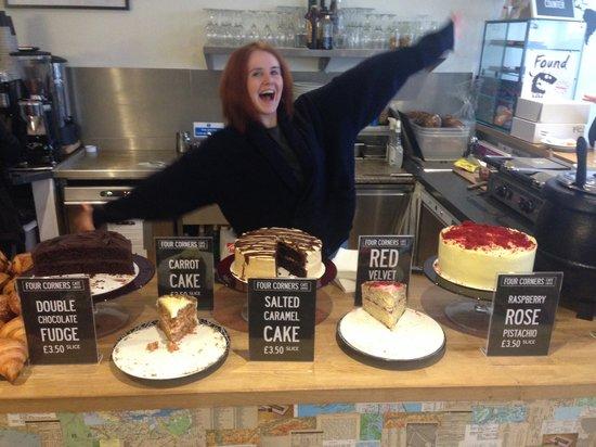 Four Corners Cafe: Cake O'Clock!