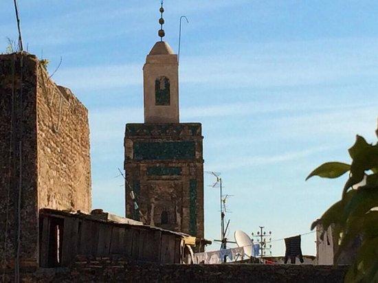 Riad Meski : Vista terrazza