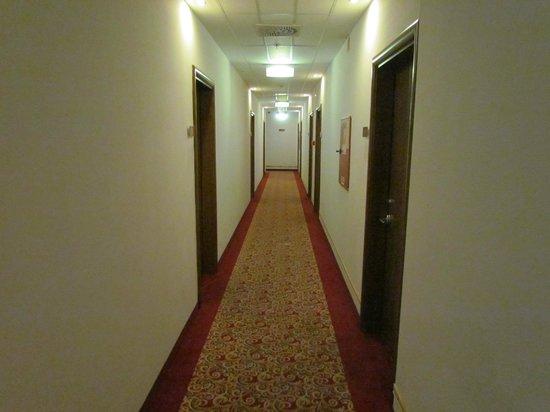 The Three Corners Hotel Bristol: Corridoio
