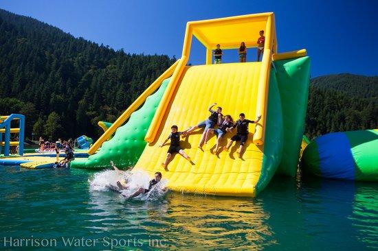 Harrison Water Sports: Slide Action