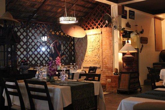 Manubai Restaurant Lounge-bar : Un coin du restaurant