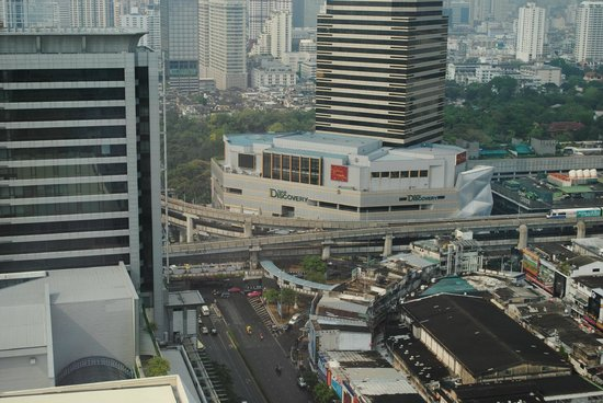 Pathumwan Princess Hotel : View from room on 28th floor