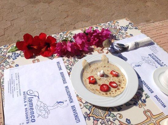 Flamenco Beach and Resort: So fängt der Tag gut an