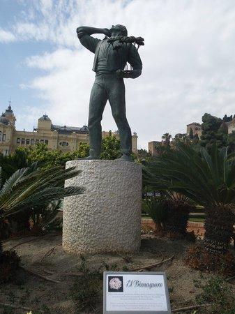 Escultura del Biznaguero
