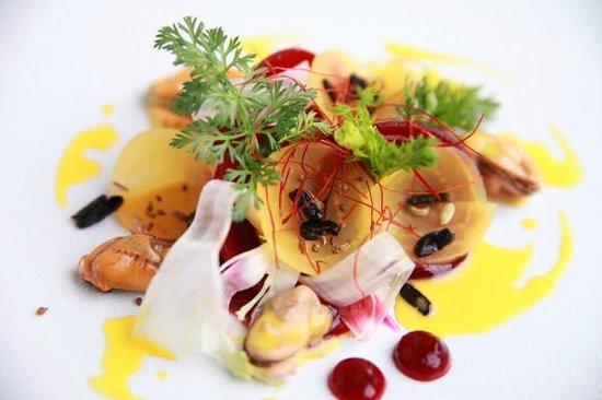 Restaurant Bieberbau : Rote Bete