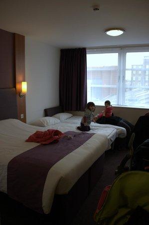 Premier Inn London Greenwich Hotel: La nostra stanza 217