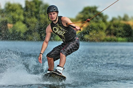 National Water Sports Centre : Wakeboarding