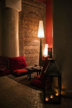 Riad Boussa: Impressions downstairs