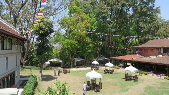 Gokarna Forest Resort: View from room terrace