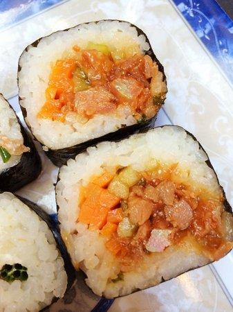 Sushimio: Awesome veggie roll