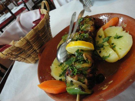 Restaurante A Ceia: squid BBQ