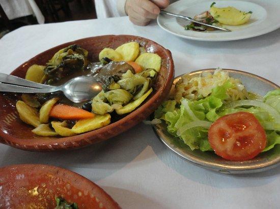 Restaurante A Ceia: stewed tongue