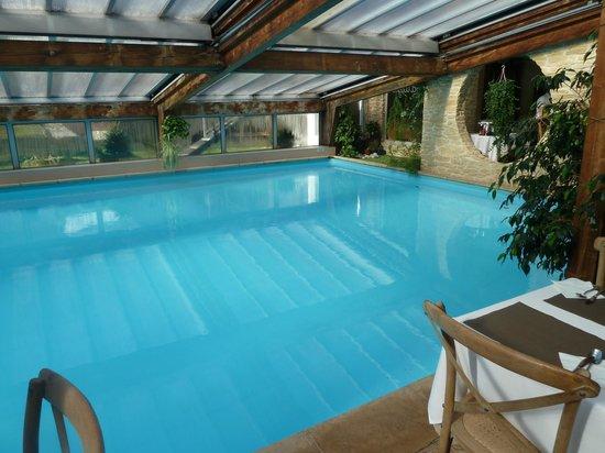 Hotel Les Airelles: La piscine